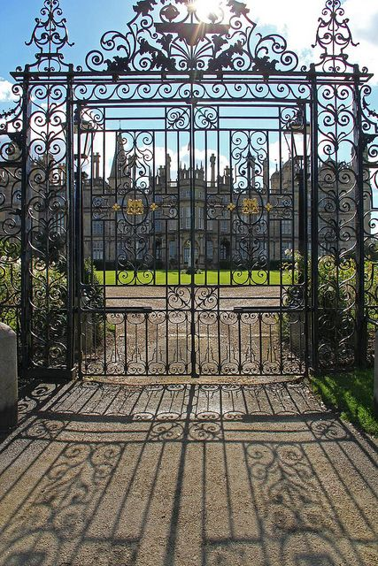 Burghley House, Stamford, Lincolnshire by Geraldine Curtis, via Flickr, UK