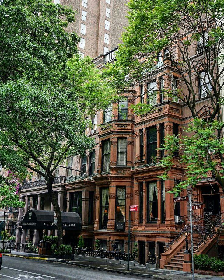 Картинки домов в нью йорке