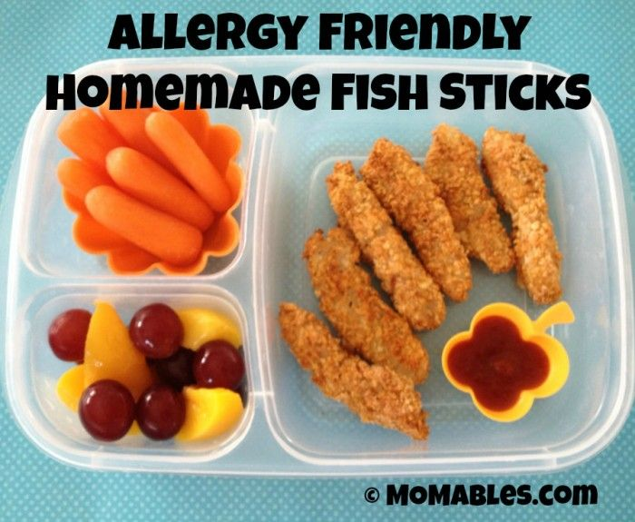 Allergy friendly homemade fish sticks recipe allergies for Kid friendly fish recipes