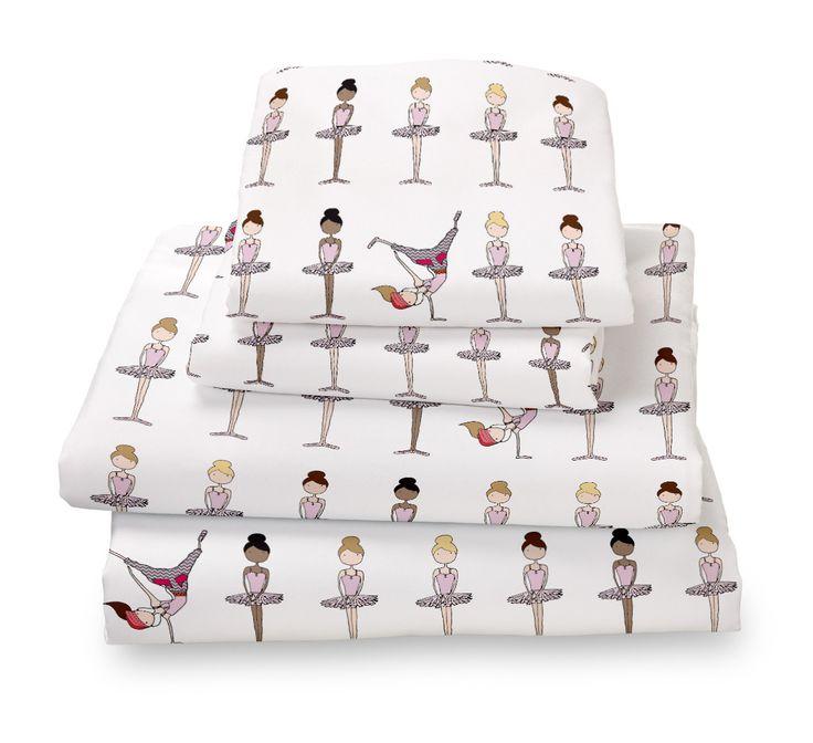 Ballerina Ultra Microfiber Bed Sheet Set