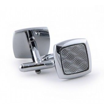 Sterling Silver Square Shape Cufflinks