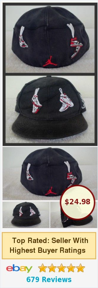 055813c1a1f ... ebay 8895b 68abd switzerland nike air jordan js on a wire fitted hat  blk white true retro sz 7 ...