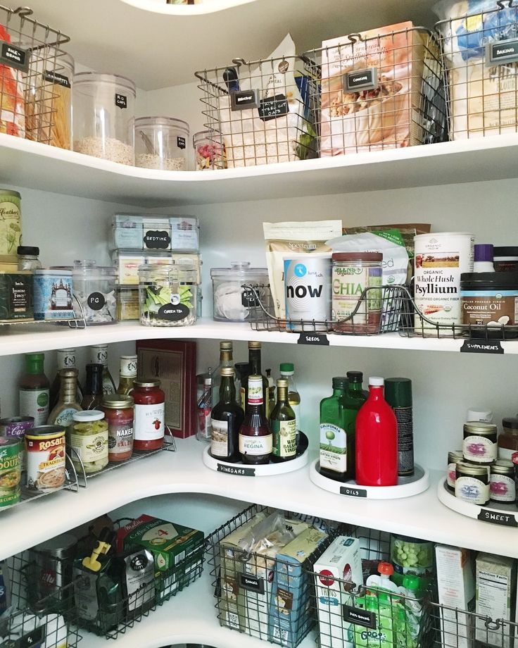 804 best images about kitchen pantry on pinterest for Perfect kitchen organization