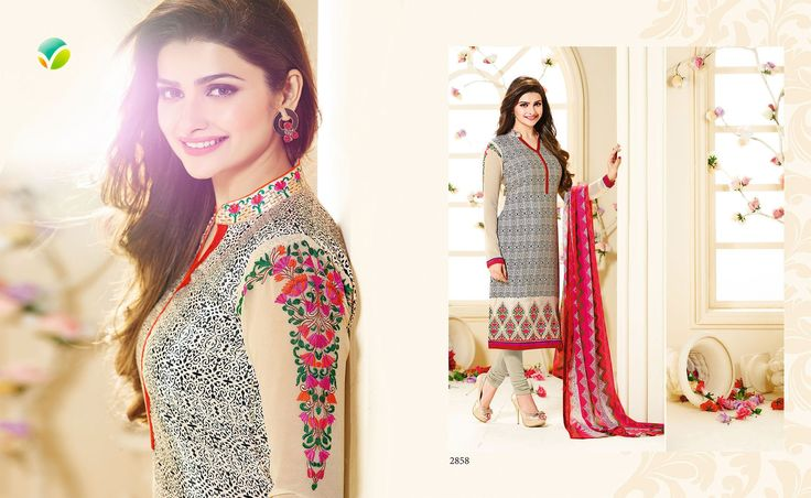 VINAY FASHION LLP SILKINA ROYAL CREPE VOL-4 bollywood actress Prachi Desai Surat brand salwar suits catlog from pehnava fashion mart. For price contact Vishal 9974806954 & Ankit 9662030388  www.pfashionmart.com