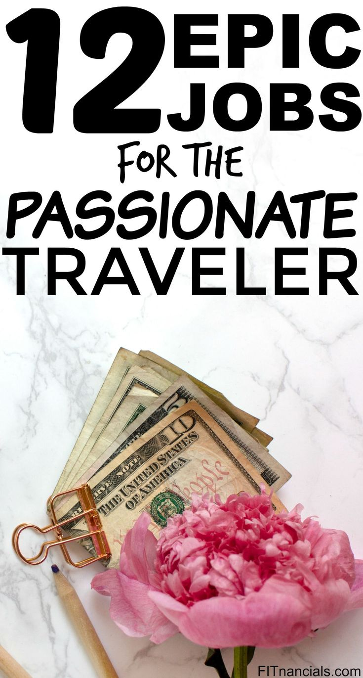Check out this list of 12 epic jobs for the passionate traveler. This is an awesome list!