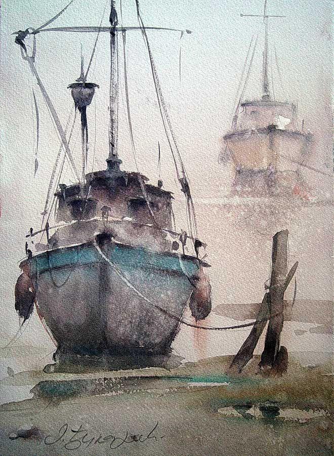 Dusan Djukaric #watercolour #painting #watercolour_paper brilliant use of watercolours!