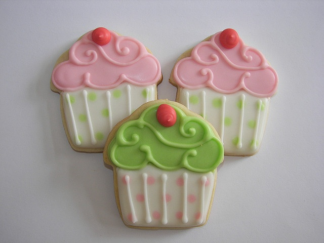 cupcake cookie :)