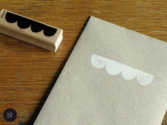 rubber stamp: scallop braid by bastisRIKE