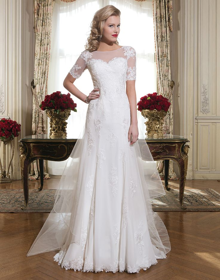 22 best spring 2015 wedding dresses images on pinterest wedding justin alexander wedding dress style 8768 chiffon venice lace fit and flare dress adorned with junglespirit Choice Image