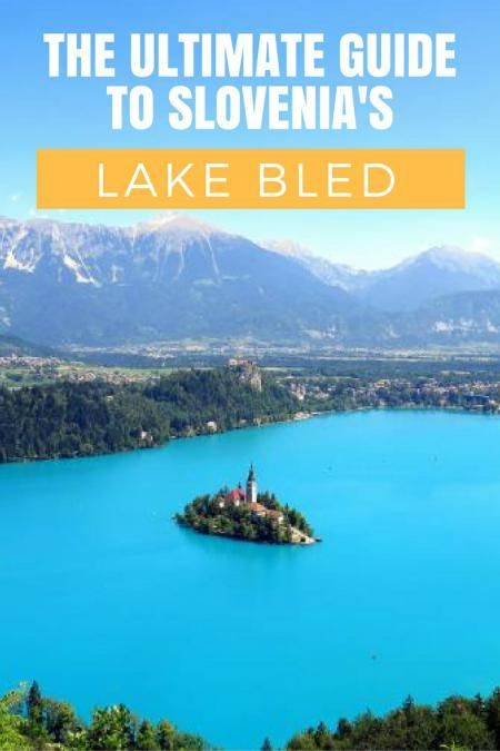 Slovenia Travel Blog: Lake Bled is a can't miss destination in Slovenia. In order to take advantage of all this picturesque town has to offer, check out this ultimate guide to Lake Bled, Slovenia. Click to learn more!