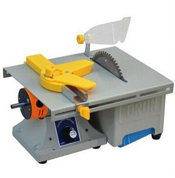 DIY Small Table Saws Micro Low Noise Home Model Making Saw