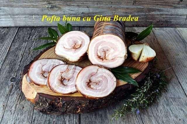 Rulada din burta de porc, pancetta