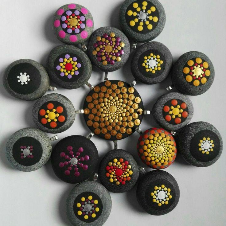 Mandala stones pendant. Coming soom ...