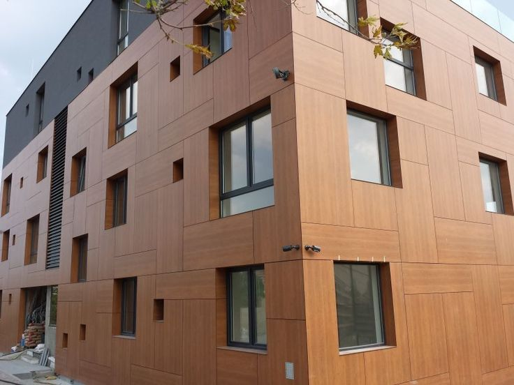 25 best ideas about exterior wall panels on pinterest for Exterior building materials