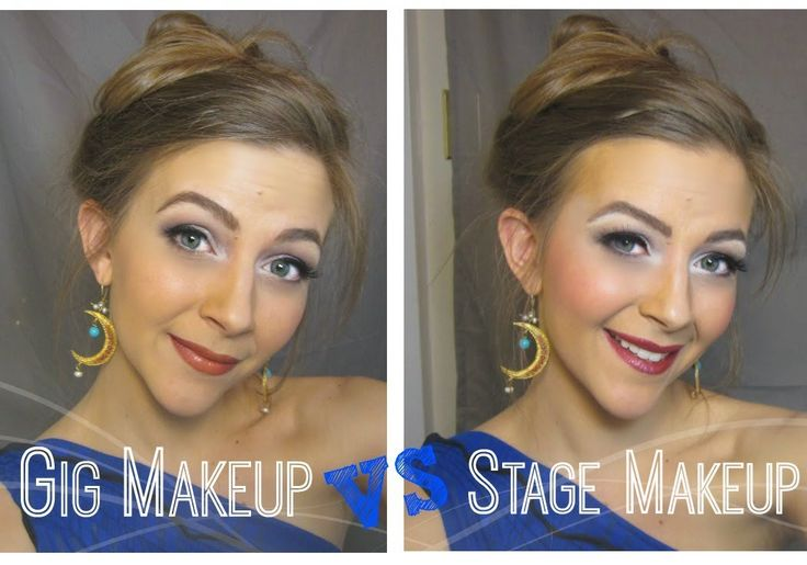 A lovely, quick tutorial from Victoria Teel: Belly Dance Gig Makeup vs Stage Make Up - in the YouTube description section she lists the products! #bellydance