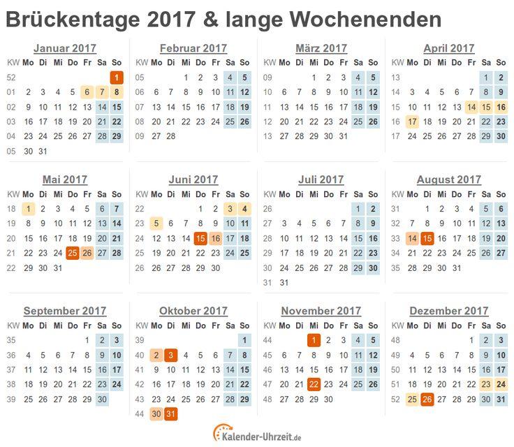 Brückentage Kalender