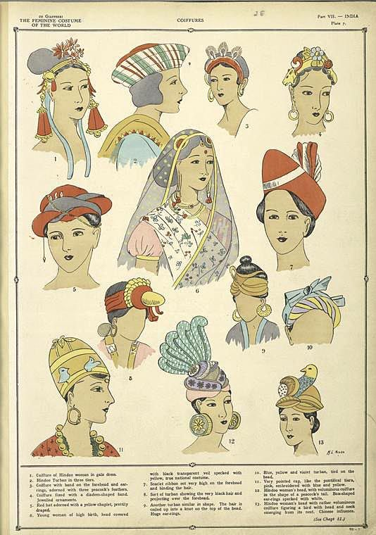 Indian Coiffures 1926~27         ([1926-1927])