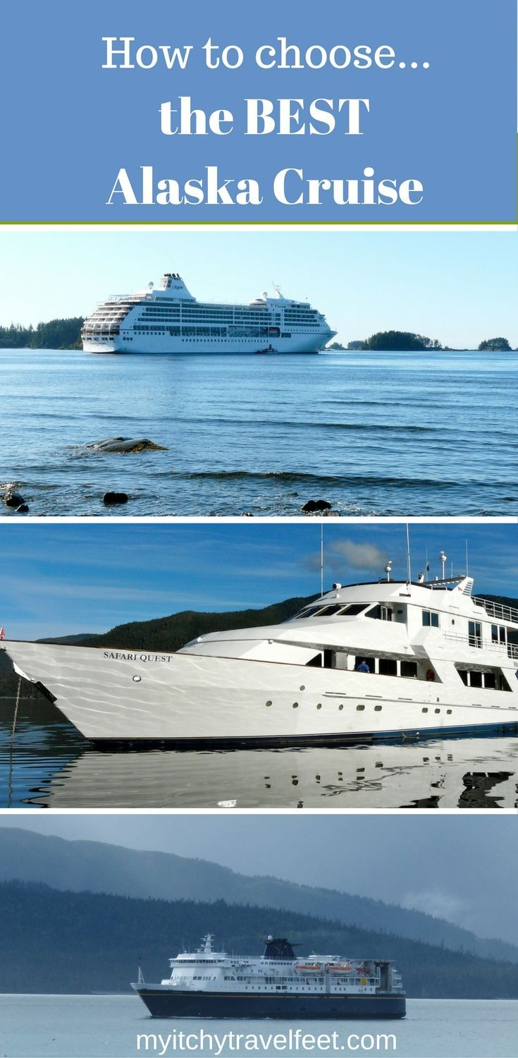 Follow our tips for how to choose the best Alaska cruise. Which Alaska itinerary should you choose? When is the best time to cruise in Alaska? What type of Alaskan cruise is best...mainstream, adventure or a ferry? Click through for our Alaska cruise travel tips.