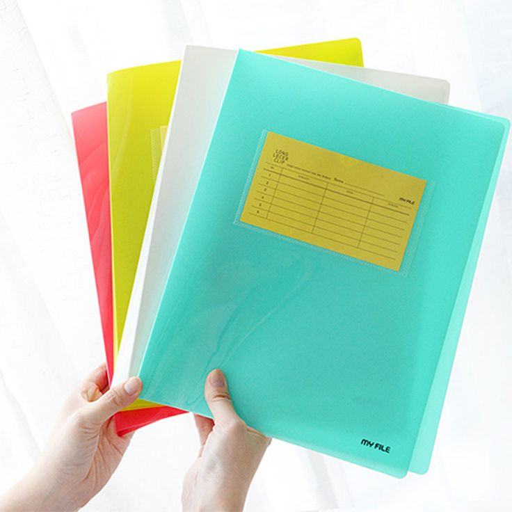 Hot selling 25329 new A4my file Youfan  stationery wholesale candy color folder