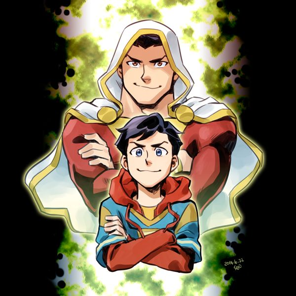 Shazam And Billy By Sii SENdeviantart On DeviantART