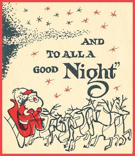 cute vintage christmas card idea