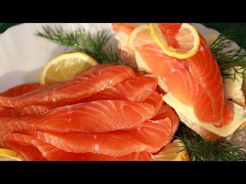 Как посолить Красную Рыбу! - YouTube