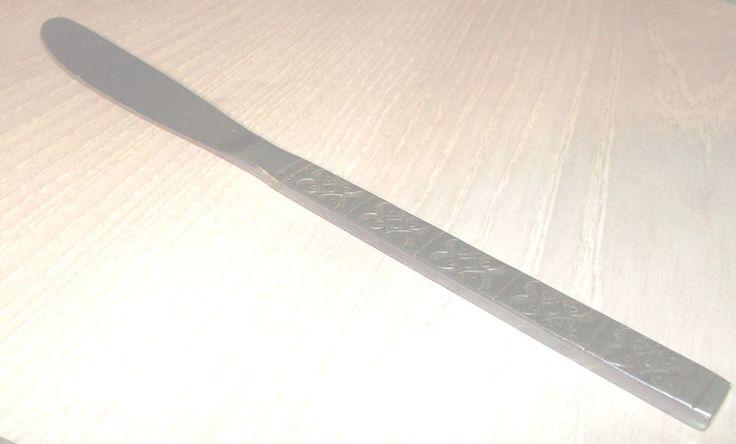 "Montalo Dinner Knife 8 1/2"" Japan Stainless Steel Flatware #Japan"