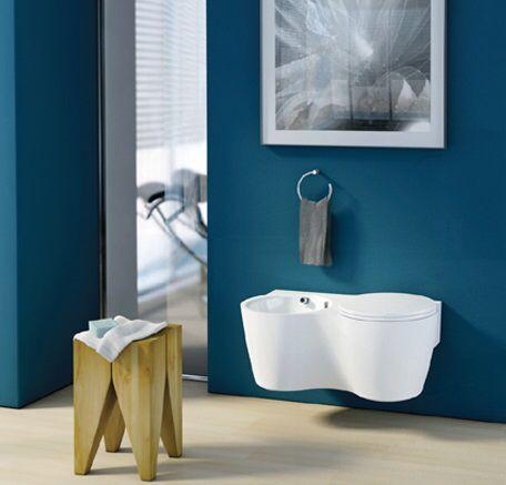 Oltre 1000 idee su piccoli bagni moderni su pinterest - Ingombro sanitari bagno ...