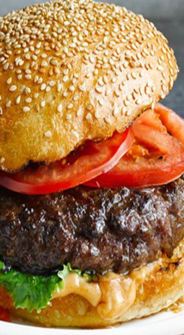 Hellmann's juicy burgers