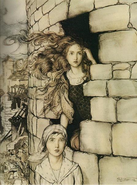 Arthur Rackham illustration-and-design