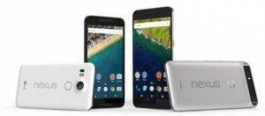 Google presenta i nuovi Nexus 5X e Nexus 6P oridittu da LG ed Huawei