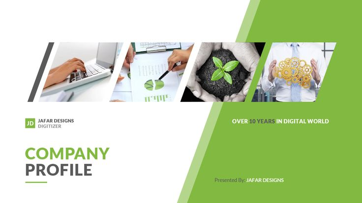 Company Profile Powerpoint Template  Company Profile