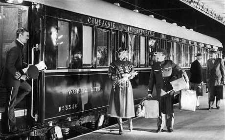 To travel on the Orient-Express is to step back in time