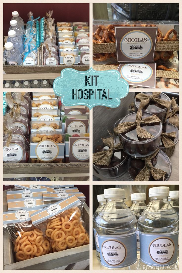 Baby Favors | Kit hospital.