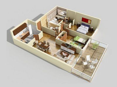 106 best house floor plan images on pinterest 3d architectural floor plans