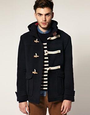 Enlarge ASOS Bonded Wool Duffle Coat