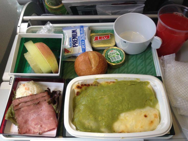 アルタリア便、行き機内食