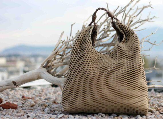 Net Hobo Bag  Every day Shopping Bag  Handmade  by EleannaKatsira