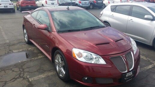 My new ride. Pontiac G6 GXP. 1 of 1000 made of this model.