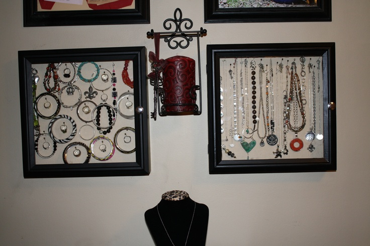 Shadow Box Jewelry Boxes Clever Ideas Pinterest