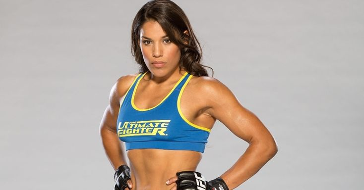 Julianna Pena just became the first-ever women's Ultimate Fighter champion. #sports #mma #ufc