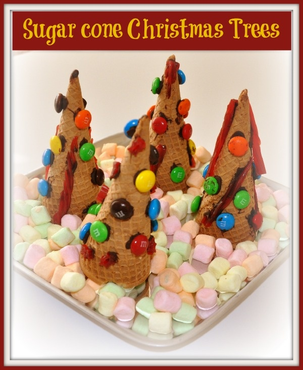 christmas crafts- This would be cute for a Friday holiday edible craft and treat!