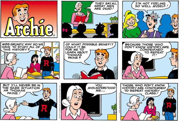 Archie comc strip excellent porn