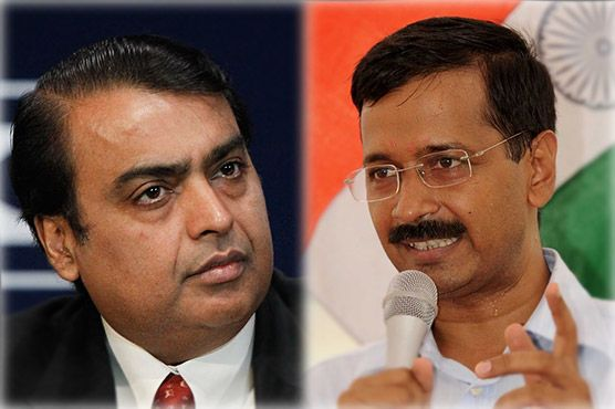 """Price-fixing allegations: #Kejriwal orders inquiry against India's richest man #Delhi s """"political revolutionary"""" chief minister on Monday took on India s wealthiest tycoon Mukesh Ambani, ordering a probe into allegations of price-fixing of gas supplies. #Crime #DunyaNews"""