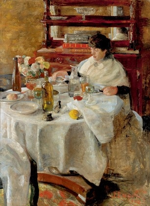 James Ensor.  The Oyster-Eater.  1882.  Art Experience NYC  www.artexperiencenyc.com/social_login/?utm_source=pinterest_medium=pins_content=pinterest_pins_campaign=pinterest_initial