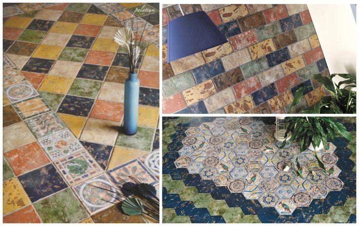 Rustic Tiles Palatium 20 x 20cm & 10 x 20cm