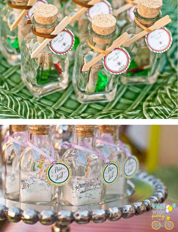 Peter Pan Party Printable Decorations Peter Tinkerbell