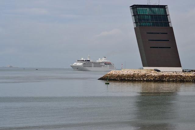 The pilots tower, Lisbon port