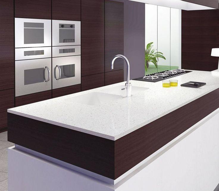Quartz And Granite Kitchens: 39 Best Quartz Stone Countertops Images On Pinterest