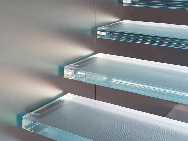 degraus de vidro flutuantes | Foster + Partners